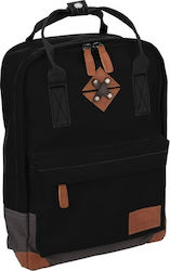 Abbey backpack Bloc small black 34 x 24 x 13,5 cm