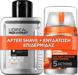 L'Oreal Barber Club Hydra Energetic Multi-Action After Shave Balm 100ml & Hydra Energetic 24h Anti-Fatique Moisturiser 48ml