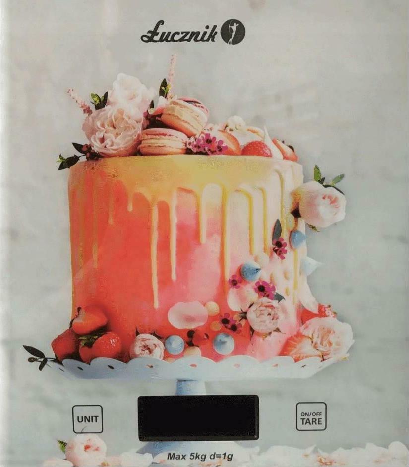 Lucznik Ψηφιακή Ζυγαριά Κουζίνας 5kg PT-852 Cake (PT-852 EX) - Πληρωμή και σε έως 36 Δόσεις!!!