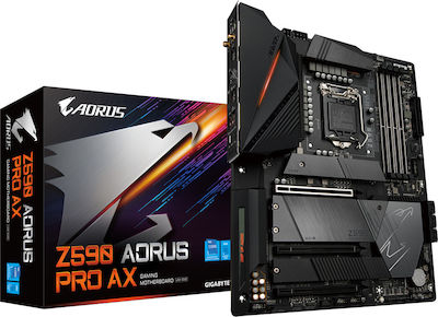 Gigabyte Z590 Aorus Pro AX (rev. 1.0) Motherboard ATX με Intel 1200 Socket