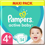 Pampers Active Baby No 4+ (10-15kg) 54τμχ